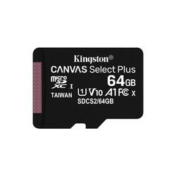 Microsd Kingston 64gb Cl10 Uhs-L Canvas Select Plus | Quonty.com | SDCS2/64GB