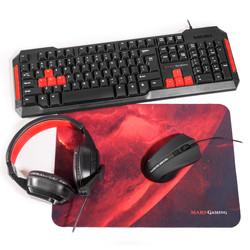 Combo Teclado/ Ratón/Alfombrilla Mars Gaming Mrcp1 | Quonty.com | MRCP1