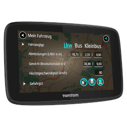 GPS AUTOMOVIL TOMTOM GO PROFESSIONAL 6250 6'' EUROPA | Quonty.com | 1PL6.002.13