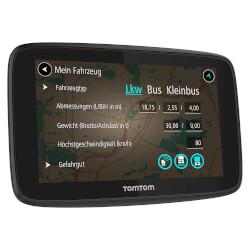 GPS AUTOMOVIL TOMTOM GO PROFESSIONAL 6250 6'' EUROPA | Quonty.com | 1PL6.002.13