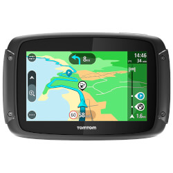 GPS MOTO TOMTOM RIDER 420 4.3'' EUROPA OCCIDENTAL | Quonty.com | 1GE0.002.28