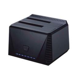 BASE CONEC. TOOQ TQDS-902B 2.5''/3.5'' SATA USB3.0 | Quonty.com | TQDS-902B