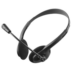 AURICULARES C/MICRÓFONO TRUST PRIMO CHAT | Quonty.com | 21665