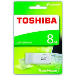 PENDRIVE TOSHIBA 8GB USB2.0 HAYABUSA BLANCO | Quonty.com | THN-U202W0080E4