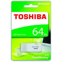 Pendrive Toshiba 64gb Usb2.0 Hayabusa Blanco | Quonty.com | THN-U202W0640E4