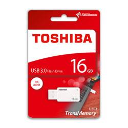 PENDRIVE TOSHIBA 16GB USB3.0 AKATSUKI BLANCO | Quonty.com | THN-U303W0160E4