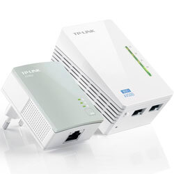 KIT 2 POWERLINE TP-LINK TL-WPA4220KIT 2RJ45/500MBPS WIFI-N/300MBPS | Quonty.com | TL-WPA4220KIT