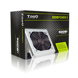 Fuente Tooq Ecopower Ii 500w 12cm Atx | Quonty.com | TQEP-500SSE
