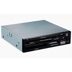 MULTILECTOR INTERNO 3.5'' TOOQ TQR-202B TARJETAS FLASH / DNIE / USB2.0 | Quonty.com | TQR-202B