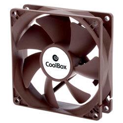 VENTILADOR 9CM COOLBOX 1.600RPM MARRON | Quonty.com | COO-VAU090-3