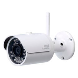 CAMARA BULLET IP 1MP EXT/INT IP66,IR,WIFI,SOPORTE | Quonty.com | 1.0.01.04.122160010