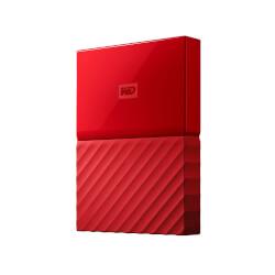 HDD WD EXT 2.5'' 1TB USB3.0 MY PASSPORT WORLDWIDE ROJO | Quonty.com | WDBYNN0010BRD-WESN