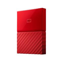 HDD WD EXT 2.5'' 4TB USB3.0 MY PASSPORT WORLDWIDE ROJO | Quonty.com | WDBYFT0040BRD-WESN