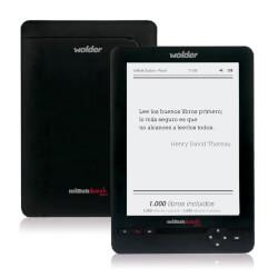 LIBRO ELECTRÓNICO WOLDER MIBUK ILUSION PEARL BAZTAN 6'' 800X600 4GB +TRILOGIA DEL BAZTAN | Quonty.com | D01EB0088