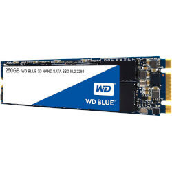 Ssd Wd M.2 250gb Blue 3d Sata3 | Quonty.com | WDS250G2B0B