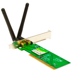 TARJETA RED WIFI TP-LINK TL-WN851ND PCI WIFI-M/300MBPS 2ANTENAS | Quonty.com | TL-WN851ND