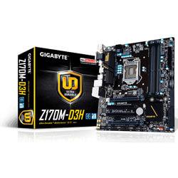 PLACA GIGABYTE Z170M-D3H INTEL1151 4DDR4 HDMI PCIE3.0 SATA3 USB3.0 MATX | Quonty.com | GA-Z170M-D3H