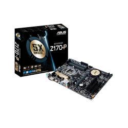 PLACA ASUS Z170-P INTEL1151 4DDR4 HDMI PCX3.0 SATA3 USB3.0 ATX | Quonty.com | 90MB0NR0-M0EAY0