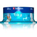 CD-R VERBATIM 700MB 52X AZO PRINTABLE FULL ID BRAND 25UNDS | Quonty.com | 43439