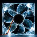 VENTILADOR UNYKA 12CM 1.100RPM NEON-BLANCO   Quonty.com   51782