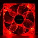 VENTILADOR UNYKA 12CM 1.100RPM NEON-ROJO | Quonty.com | 51783