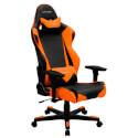 SILLA DXRACER R-Series OH/RE0/NO Negra-Naranja   Quonty.com   GC-R0-NO-E6