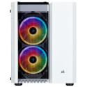 CAJA MINITORRE/MATX CORSAIR CRYSTAL SERIES 280X RGB BLANCA | Quonty.com | CC-9011137-WW