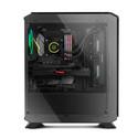 CAJA SEMITORRE/ATX NOX HUMMER TGF USB3.1 LED-RGB NEGRO | Quonty.com | NXHUMMERTGF