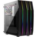 Caja Semitorre Aerocool Klaw S/Fuente Usb 3.0 Negro | Quonty.com | KLAW