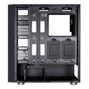 Caja Semitorre Aerocool Quartzrgb S/Fuente Usb3.0 Negro Led | Quonty.com | QUARTZRGB