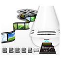 Bombilla Led Rgb Camara Wifi Xm Family 2mpx 360º Bt Altavoz | Quonty.com | B2-Y