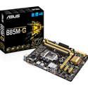 PLACA ASUS B85M-G INTEL1150 4DDR3 HDMI PCX3.0 SATA3 USB3.0 MATX | Quonty.com | 90-MB0G50-M0EAY0