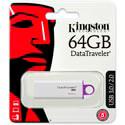 PENDRIVE KINGSTON 64GB USB3.0 DT G4 BLANCO | Quonty.com | DTIG4/64GB
