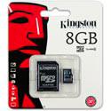 MICROSD KINGSTON 8GB CL4 ADAPTADOR SD | Quonty.com | SDC4/8GB