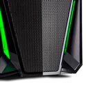 Caja Semitorre/Atx Nox Nxpax Usb3.0 Led Verde Metal | Quonty.com | NXPAXG
