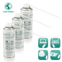PACK - 3 AIRE COMPRIMIDO EMINENT 400 ML UPRIGHT USE | Quonty.com | EW5601-3
