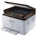 MULTIFUNCION SAMSUNG LASER COLOR SL-C480 NEGRO 18PPM/COLOR 4PPM 2400X600PX | Quonty.com | SL-C480/SEE