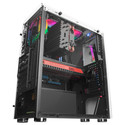 Caja Semitorre Tacens Mars Gaming Mcxw S/Fuente Negro/Blanco | Quonty.com | MCXW