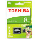 MICROSD TOSHIBA 8GB CL4 ADAPTADOR SD | Quonty.com | THN-M102K0080M2