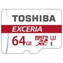 MICROSD TOSHIBA 64GB CL10 UHS-I ADAPTADOR SD   Quonty.com   THN-M302R0640EA