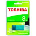 PENDRIVE TOSHIBA 8GB USB2.0 HAYABUSA AQUA | Quonty.com | THN-U202L0080E4